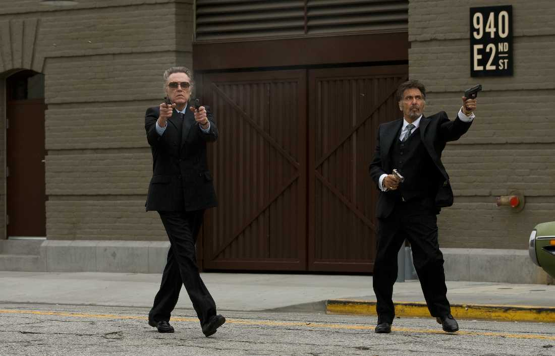 Christopher Walken and Al Pacino re-enact old times in