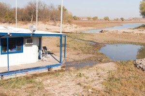 The level of Benbrook Lake has been increasingly low in recent years. Jeff Prince