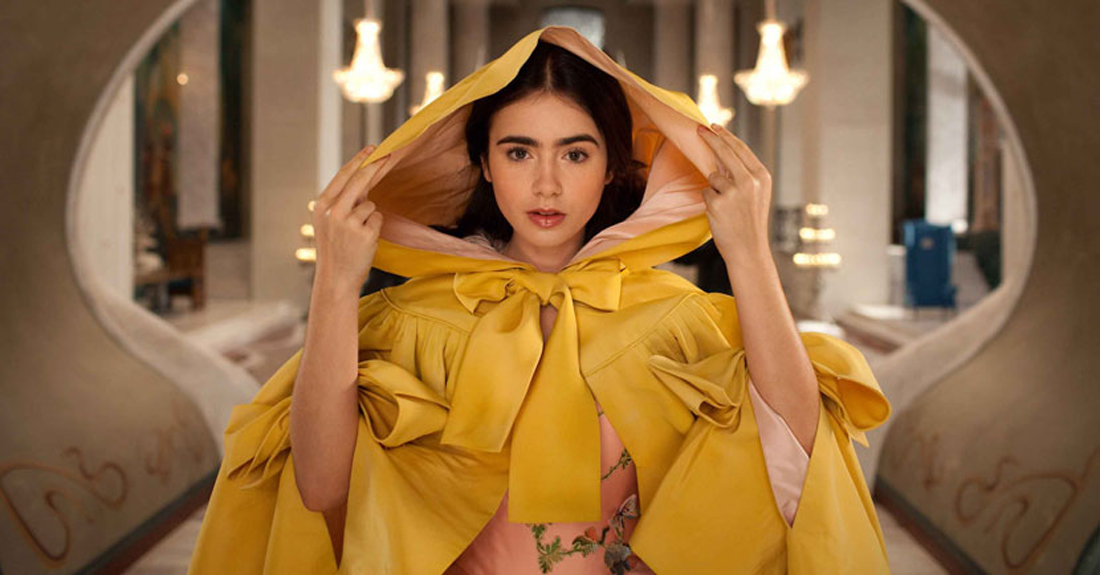 The late Eiko Ishioka is nominated for an Oscar for Lily Collins' outfits in Mirror Mirror.