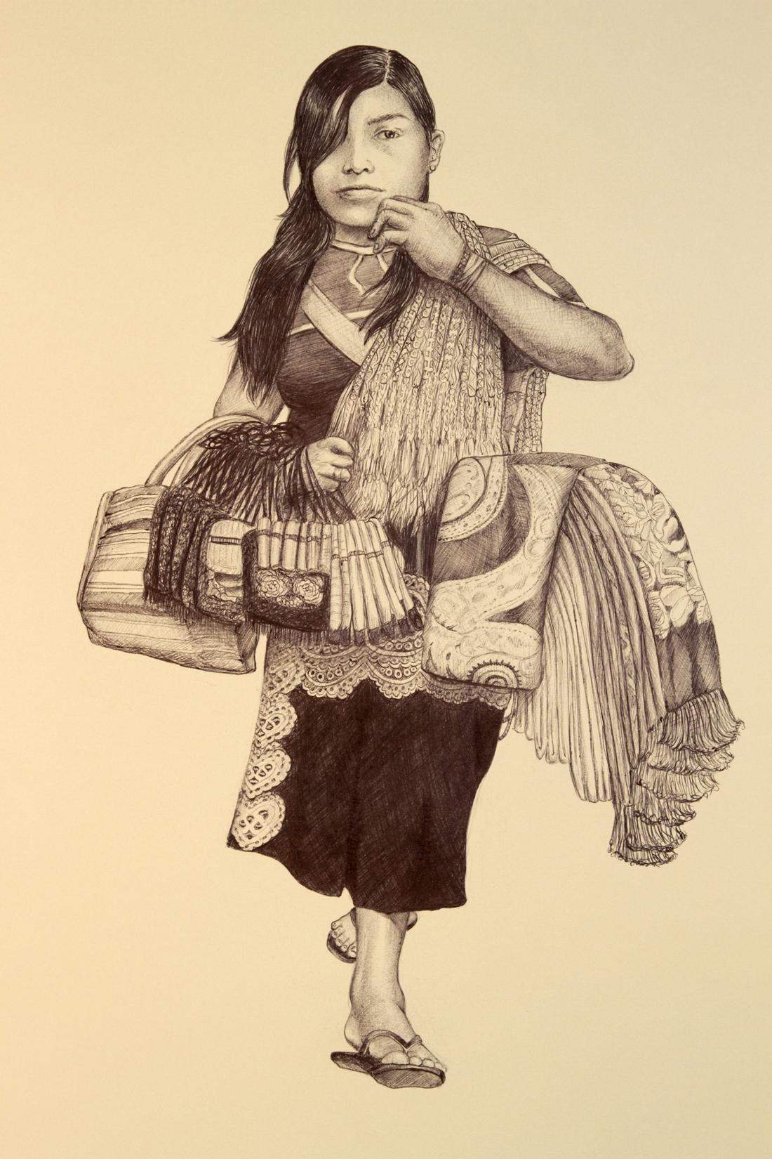 "Linda Lucia Santana's ""Rebozos"""