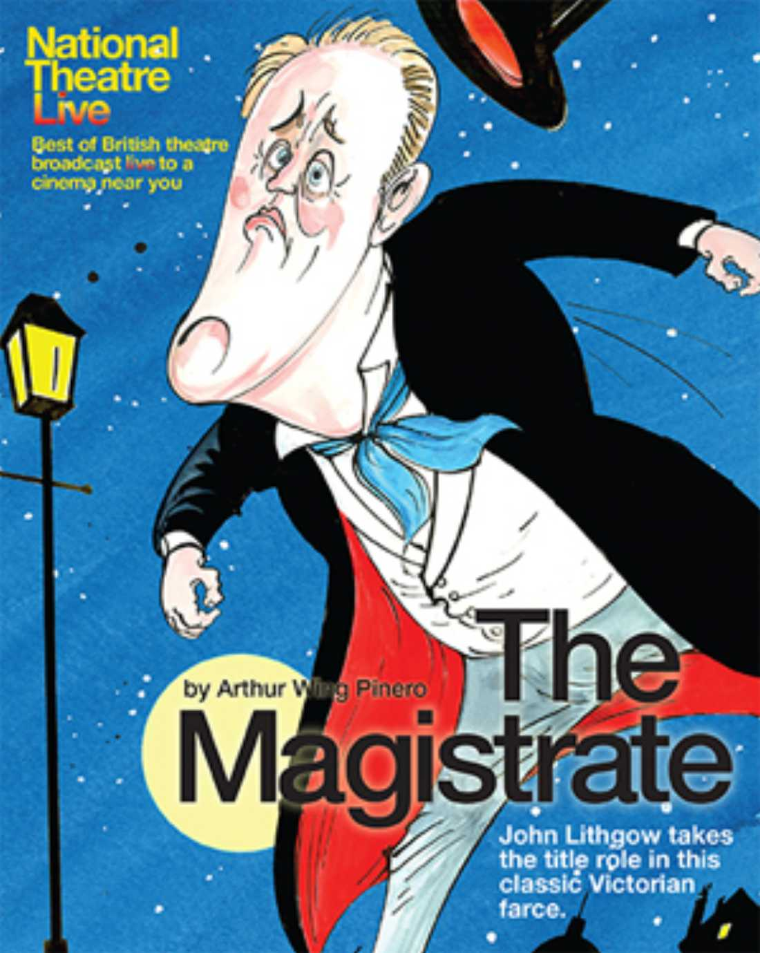 The Magistrate stars John Lithgow and screens Wednesday at Modern Art Museum of Fort Worth.