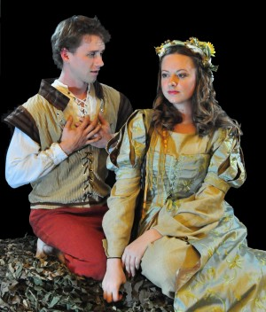 Libby Hawkins Roming and Nathan Dibben star in Stolen Shakespeare's The Winter's Tale.