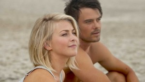 "Julianne Hough and Josh Duhamel star in ""Safe Haven""."