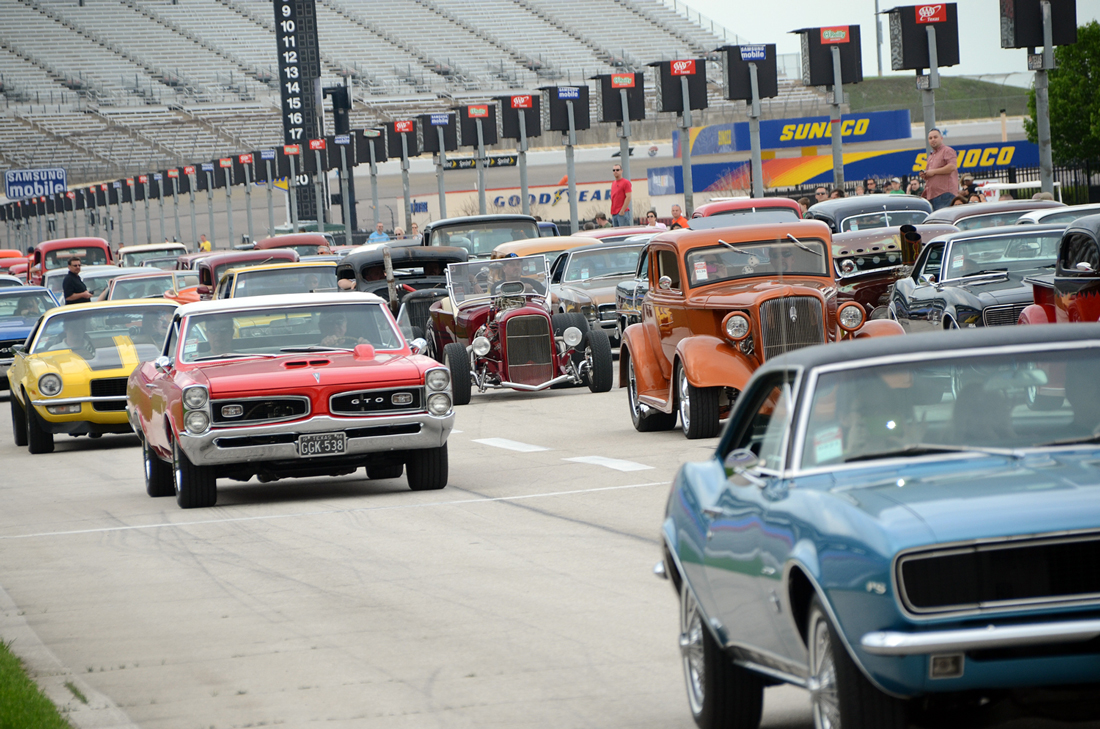 The Lone Star Nationals at Texas Motor Speedway, Fri-Sun.