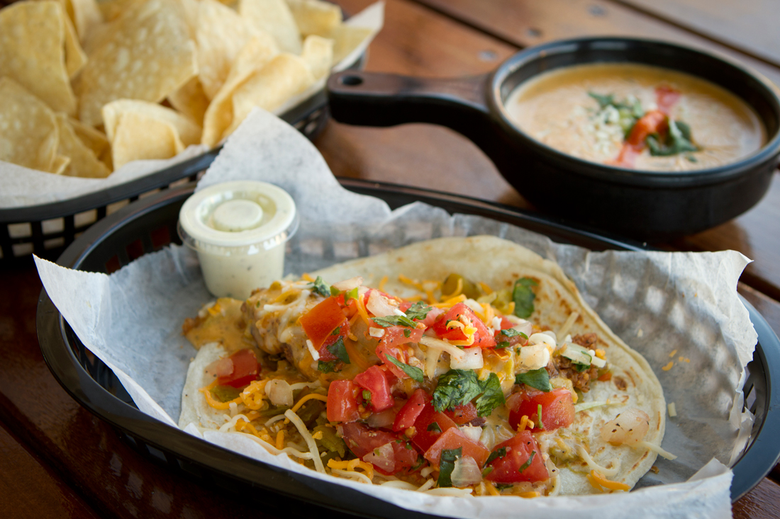 "You can order your tacos ""trashy,"" which means ""with Torchy's delectable queso."" Do it. Tony Robles"