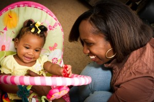 """Kennedy, with baby Kamryn: """"Knowledge is power. It can save somebody's life."""""""