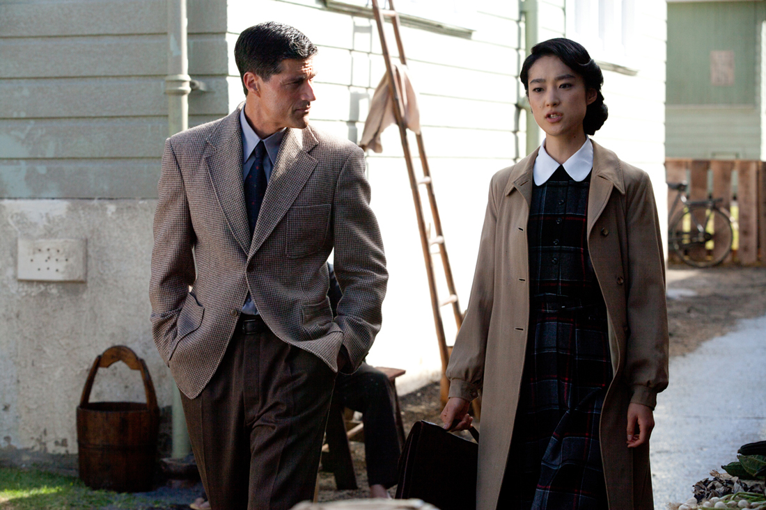 Matthew Fox and Eriko Hatsune pursue an ill-starred wartime romance in Emperor.