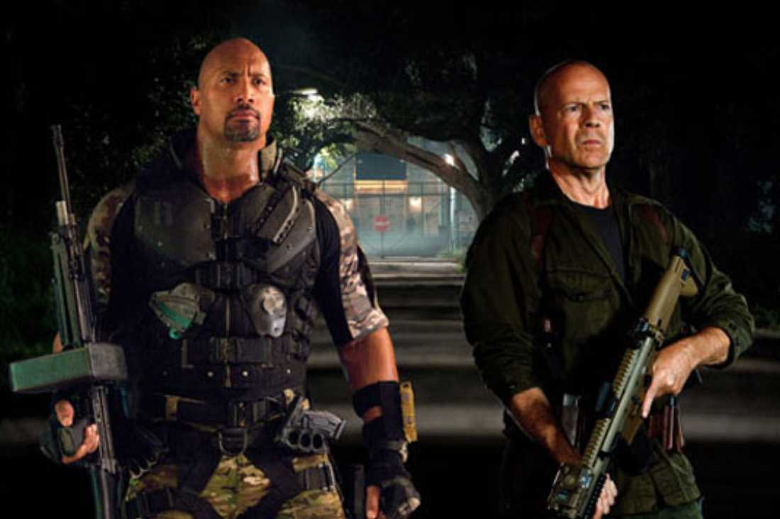 G.I. Joe: Retaliation opens Friday.