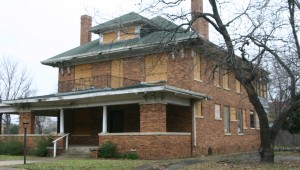 The Dillow house was donated to TWU, but the university hasn't used it for more than five years. Jeff Prince