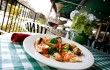 Café Bella serves up chicken rollatini wih veggies in a pink sauce. Vishal Malhotra
