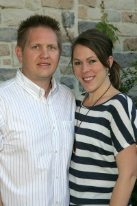 """Krista Grant, with husband Micah: """"I know I'm getting what they say I'm getting."""" Lee Chastain"""