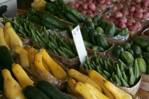 The Ridgmar Farmers Market is open year-round. Lee Chastain