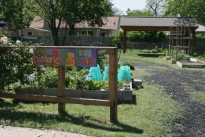 All of the plots at the Fairmount Urban Garden are rented out. Lee Chastain