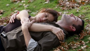 Olga Kurylenko and Ben Affleck share one of many pensive moments in To the Wonder.