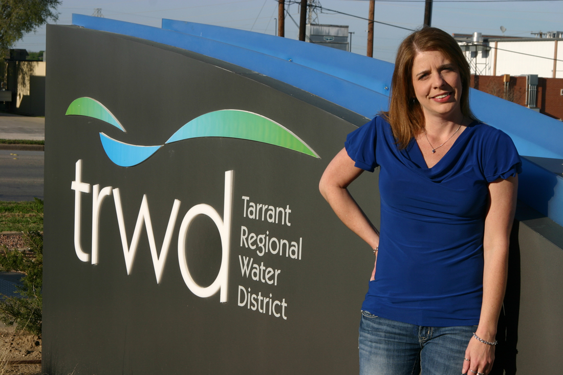 Water activist Layla Caraway is among those wanting new leadership on the Tarrant Regional Water District board. Jeff Prince