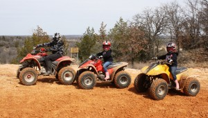 Operators of Red River Motorcycle Trails, an off-road park, are challenging EOG Resources' request for a sand mining permit. Courtesy Red River