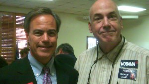Texas Speaker of the House Joe Straus with Railey