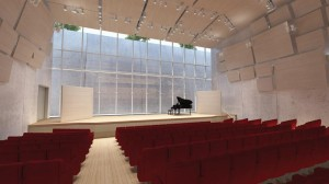 Seen in this rendering, the Piano Pavilion Performance Hall is part of the Kimbell's $135 million expansion.