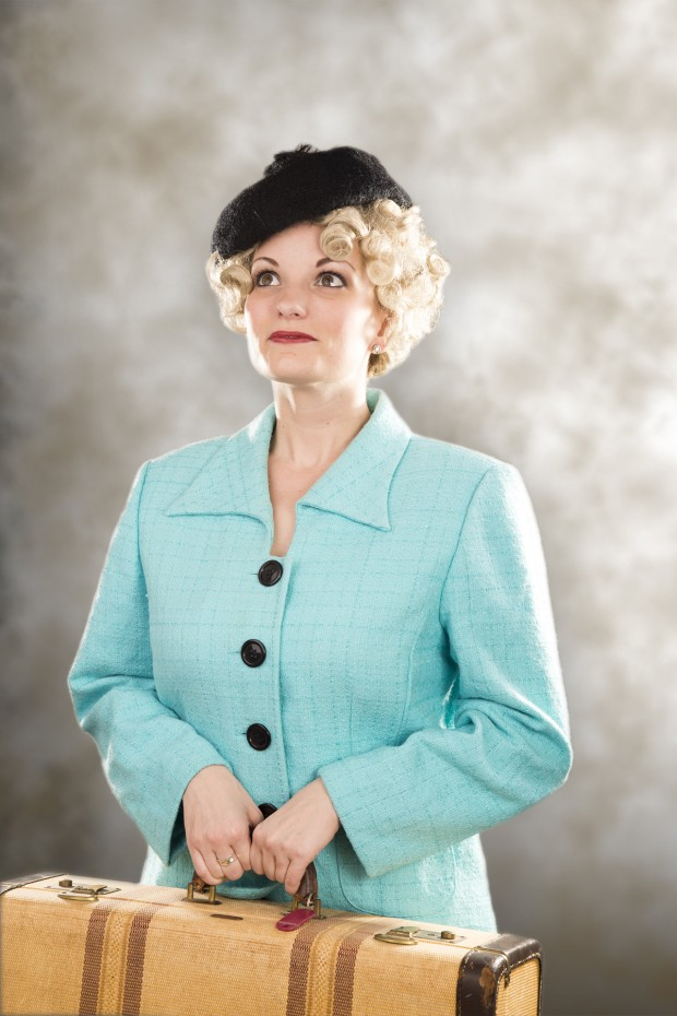 "Libby Claycomb in Artisan Center Theater's ""42nd Street""."