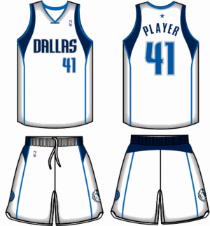 Mavs uniform