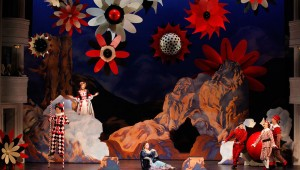 The sets of Fort Worth Opera's Ariadne auf Naxos are some of the most amazing ever seen in Bass Hall.