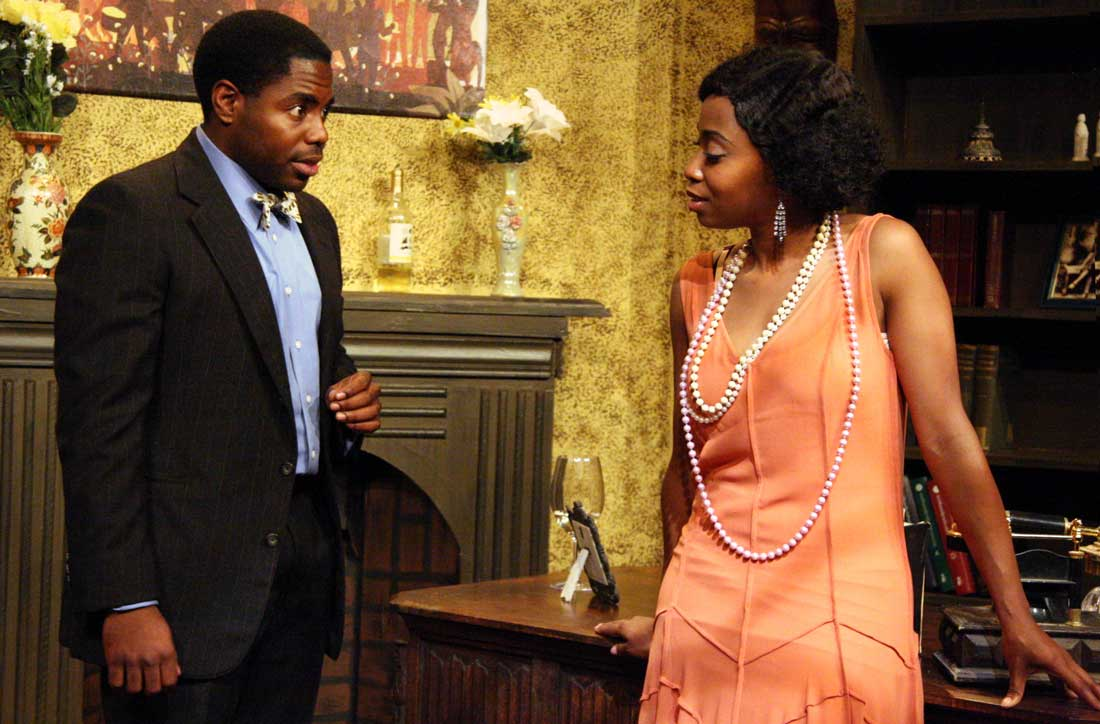 Whitney Coulter and Christopher Piper star in Jubilee's latest, set during the Harlem Renaissance.