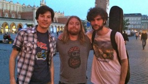 The Texas Music-obsessed Dirty Shoes Band joined Keegan for a few tunes in Krakow.