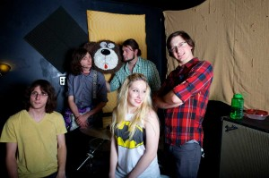 Not so innocent: The bubbly Breakfast Machine is nominated for indie-rock album of the year (A Pitch to the Wind) and frontwoman Meghann Moore for best female vocalist.