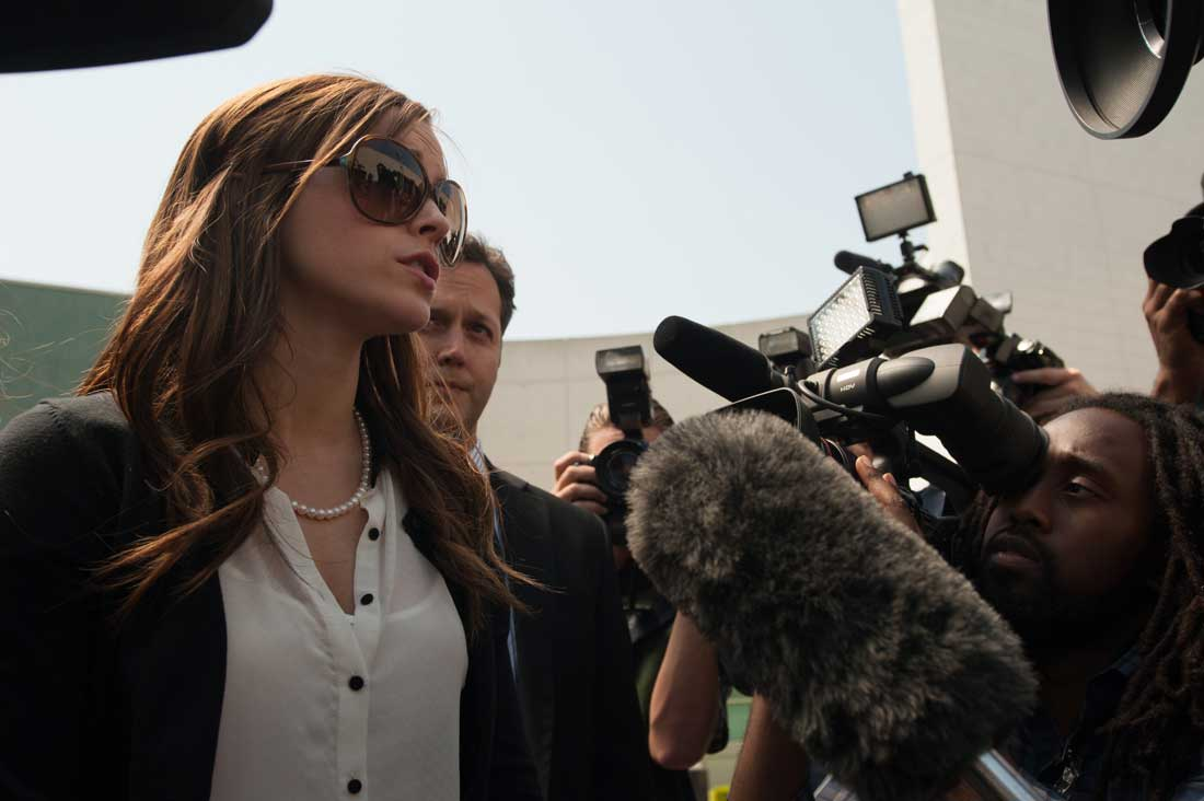 """I want to lead a country one day, for all I know."" Emma Watson holds court in The Bling Ring."