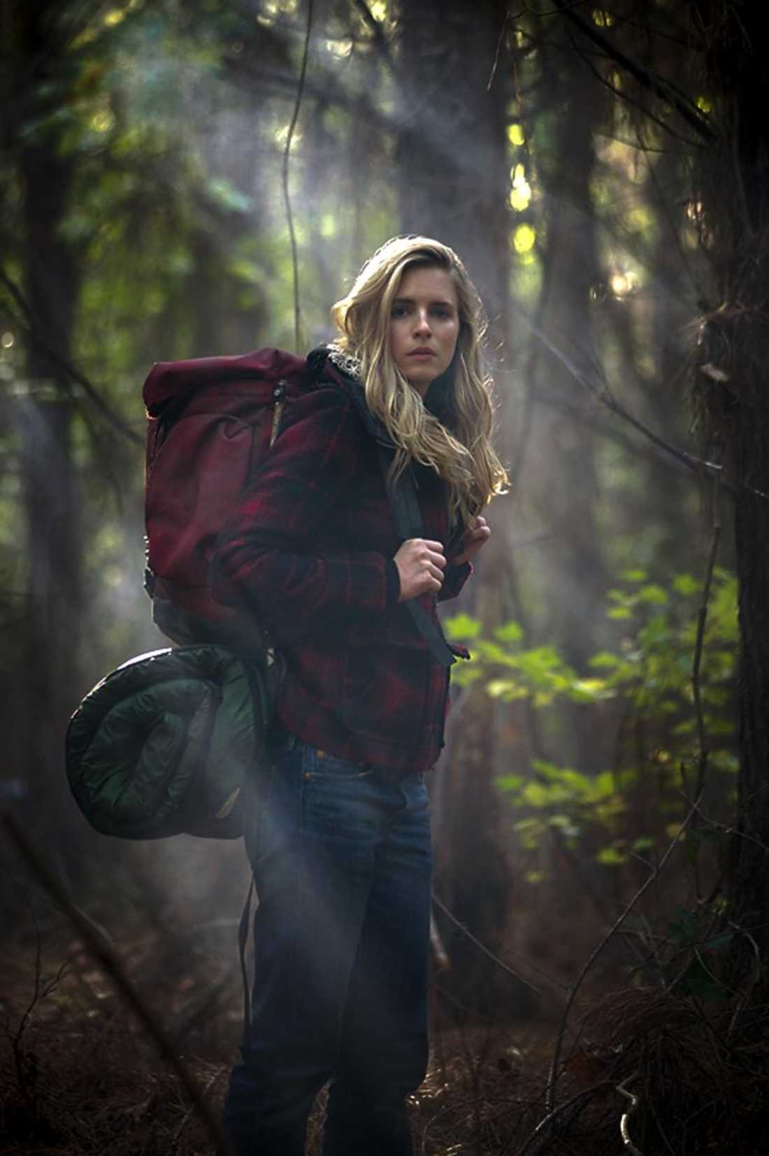 Brit Marling is geared up to live off the land in The East.
