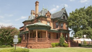 THE BALL-EDDLEMAN-MCFARLAND HOUSE ON PENN STREET IN FORT WORTH-