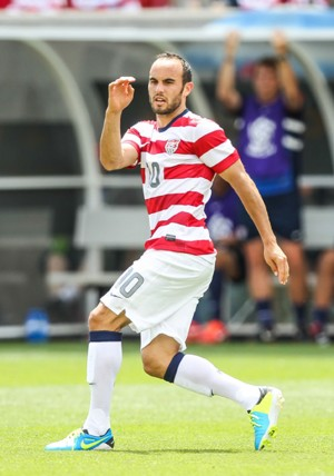 Landon Donovan leads USA at Cowboys Stadium, Wed.
