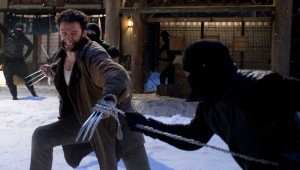 Hugh Jackman battles Japanese ninja warriors in The Wolverine.