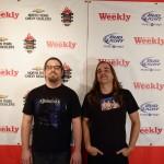 Best band nominees Pinkish Black.