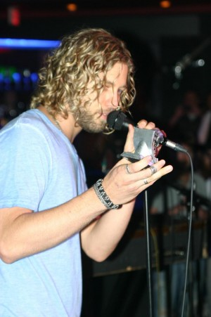 FORMER AMERICAN IDOL FINALIST CASEY JAMES SAID HIS PANTHY WAS THE FIRST AWARD HE'D EVER WON.