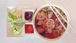 Everything, including the beef pho, is made from scratch at Miss Saigon II. Adrien P. Maroney