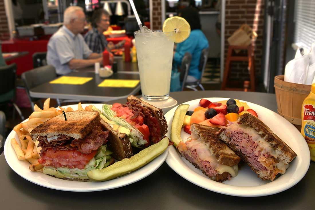 "The Chuck Norris (left) and ""The World's Best Reuben"" are calling you out. Lee Chastain"