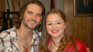 BO BICE AND SKYLAR ELISE (courtesy of Skylar's Facebook page)