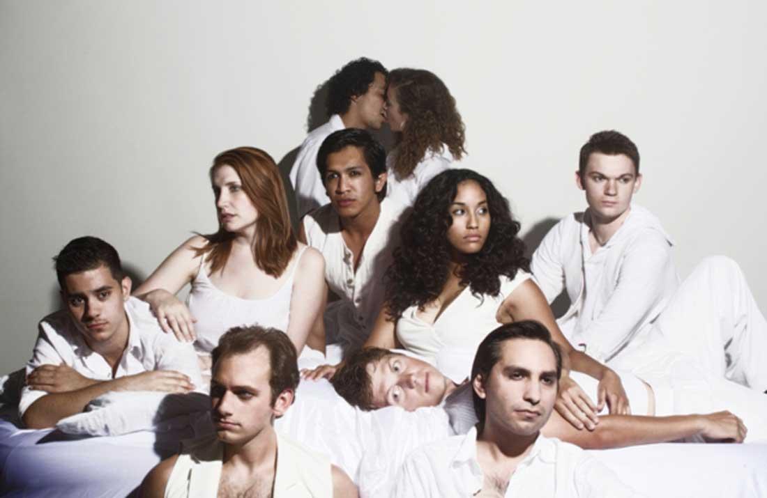 The cast of Artes de la Rosa's Romeo and Juliet prepares to tackle The Bard.