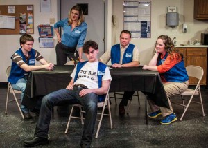 Circle Theatre's A Bright New Boise explored some challenging themes.  Courtesy Circle Theatre