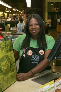 Nobody leaves Whole Foods Market in a huff on  Marquita Sims' watch. Lee Chastain