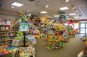 Toy Works is a refreshing change from the big-box stores. Brian Hutson