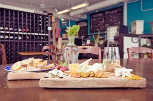 There's a cheese board with your name on it at Magnolia Cheese Co. Adrien P. Maroney