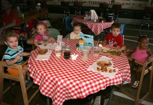 Kids can be their own rowdy selves at Twisted Root. Lee Chastain