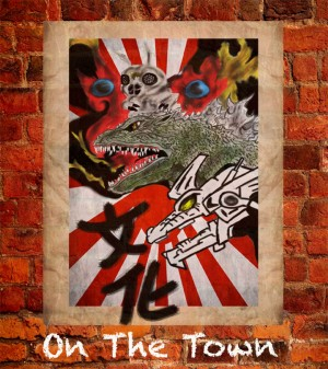 On The Town cover design winner and Art Institute student Jose Perez