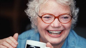 """Red Hot Patriot: The Kick-Ass Wit of Molly Ivins"" plays at Addison's WaterTower Theatre thru Sep 29 ."
