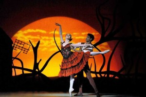 The broadcast of London's Royal Ballet's Don Quixote screens at 6:30pm at Cinemark Ridgmar.