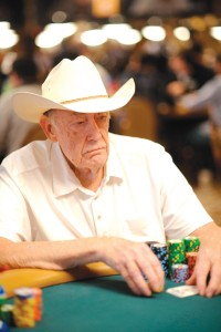 """Brunson: """"It was not the easiest way to make a living."""" Courtesy WSOP"""