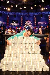 Esfandiari paid $1 million to enter a 2012 WSOP charity tournament — and won $18 million. Courtesy WSOP