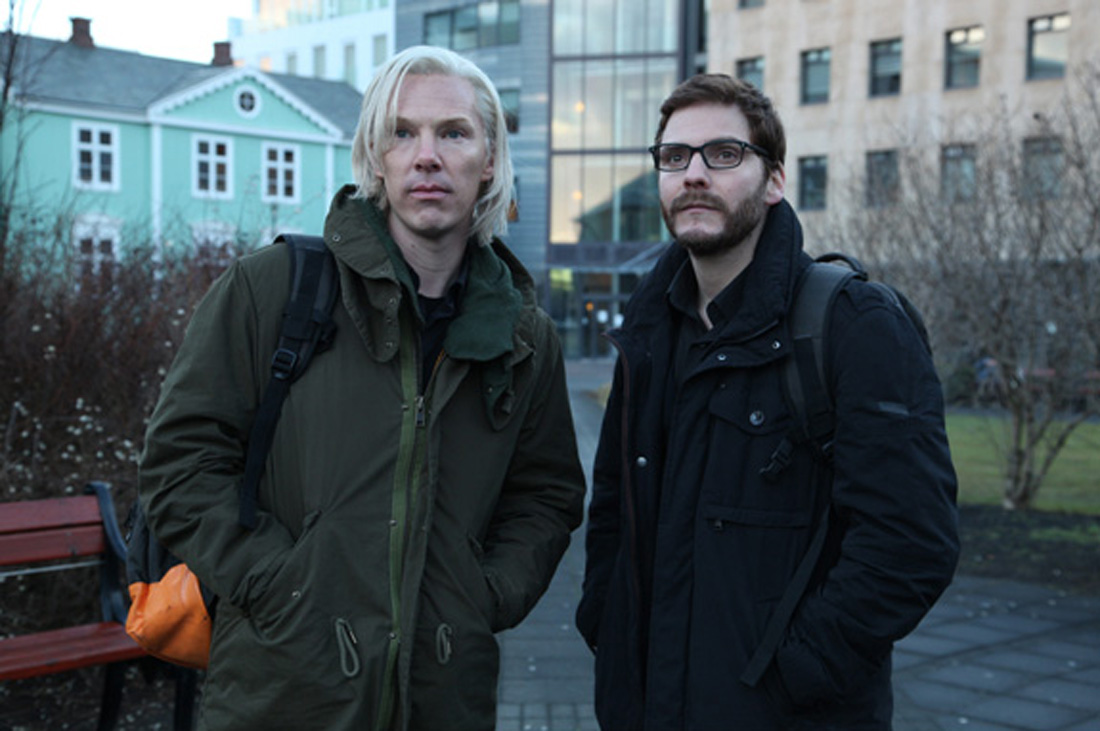 Benedict Cumberbatch and Daniel Brühl take up a crusade for the truth in The Fifth Estate.